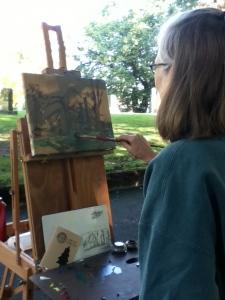 Cheryl's painting